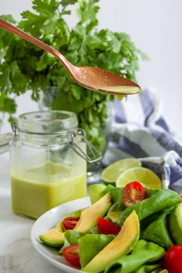 Cilantro lime dressing is a healthy salad dressing recipe with just a handful of simple ingredients, packed with flavors.