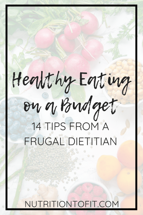 Healthy Eating on a Budget isn't some mythical feat or impossible task! Registered dietitian nutritionist Lindsey Janeiro shares her top frugal living tips for healthy eating on a budget.