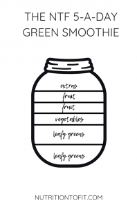 The NTF 5-a-Day Green Smoothie