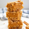 Pumpkin Pie Crumble Bars (Gluten-Free, Nut-Free)