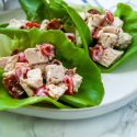 Turkey BLT Lettuce Cups (Great for Leftover Thanksgiving Turkey!)