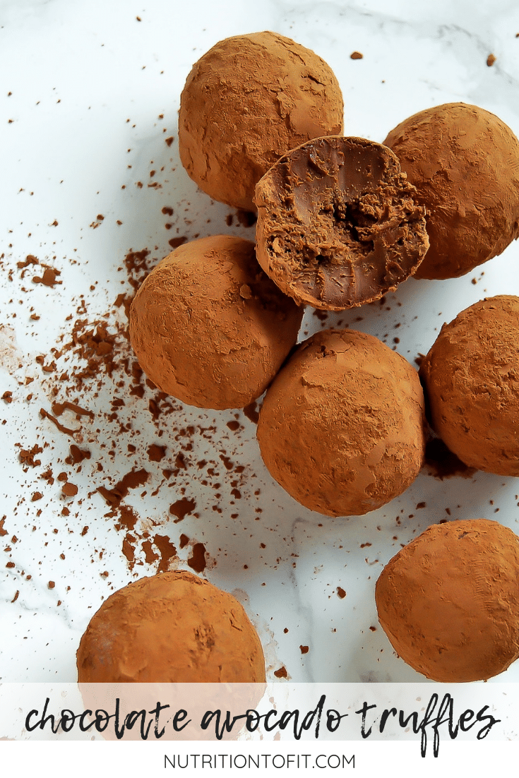 These decadent Chocolate Avocado Truffles are a low-sugar dessert that have just four ingredients and can easily be customized for food allergies and sensitivities.