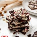 Triple Chocolate Peppermint Bark