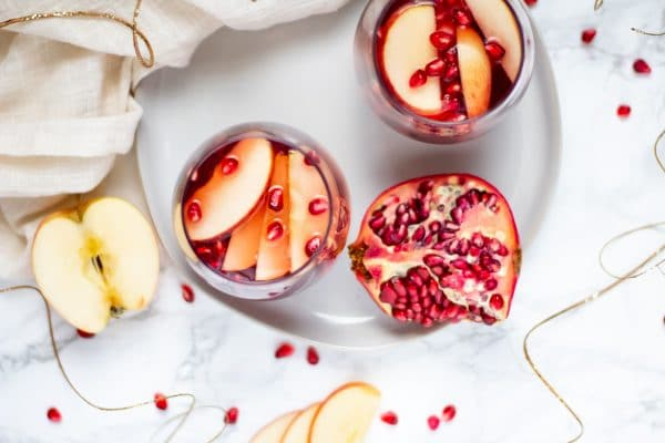 Three simple ingredients create a festive, holiday mocktail the whole family can enjoy. Try fun infusions to get even more creative with your healthy mocktail!