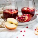 Sparkling Pomegranate Apple Cider Mocktail