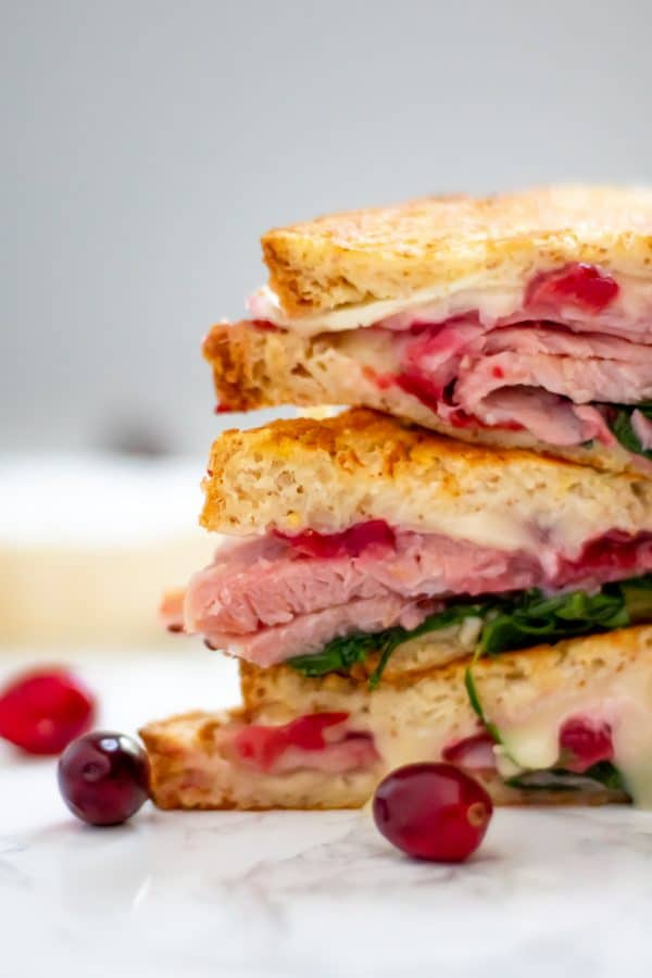 All the flavors and textures combine to make one incredibly satisfying sandwich with leftover holiday ham.