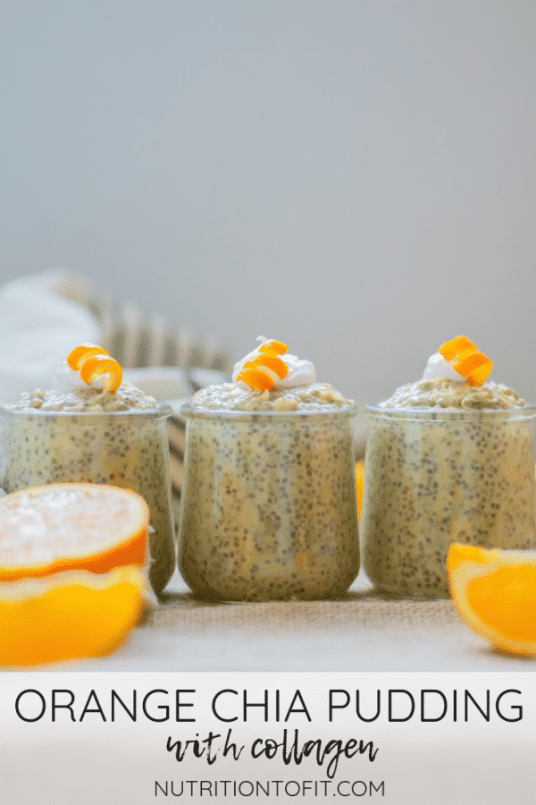 This orange chia pudding tastes like a healthy creamsicle pudding. Rich with fiber, protein, healthy fats, and with no added sugar, it makes a great balanced meal or healthy snack.
