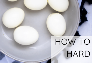 How to Hard Boil an Egg 3 Ways