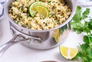 Cilantro Lime Quinoa (Instant Pot Option)