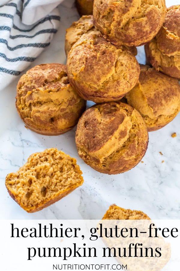 Healthier, Gluten-Free Pumpkin Muffins