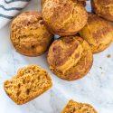 Healthy, Gluten-Free Pumpkin Muffins